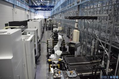 工場「スマート化」自ら実践 工作機械、ユーザーに経験提案
