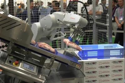 SIerが拓くロボットの未来/なんつね 食品生産ライン開発・提案