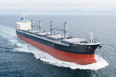 三井E&S造船、バラ積み船引き渡し 排ガス浄化装置搭載