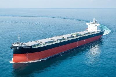 サノヤス造船、バラ積み船完工