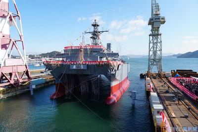 三井E&S、三菱重に「艦艇」譲渡へ 祖業の造船立て直し