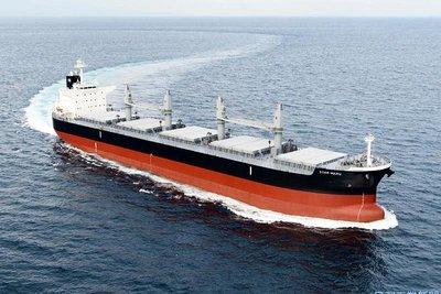 三井E&S、バラ積み船引き渡し