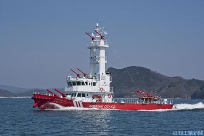マロール、船舶向け自動位置保持装置を低価格化 川崎市消防局に初号機
