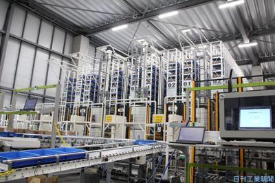 日本精工、産機向け物流倉庫を効率化 自動ラック・無人搬送車、拠点集約で低コスト化