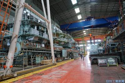 三井E&S、生産性向上に重点投資 玉野・大分工場でDXやIoT活用