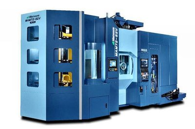 松浦機械、5軸MC中型機刷新 工作物の最大寸法拡大