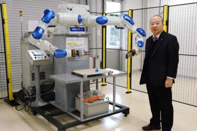 SIerが拓くロボットの未来/五誠機械産業 ロボ操作、安全意識を啓発