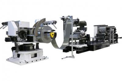 三共製作所、金属板の送り速度2倍 モーターコア製造向け設備