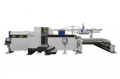 村田機械、自動化向け独自搬送機構 複合機に接続