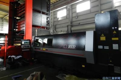 ヤマナカ、本社工場に板金加工の新型機導入 大型部材・材質多様化対応