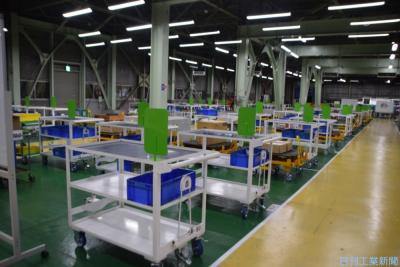 ジェイテクト 変わる工作機械工場(上)各工程を「整流化」