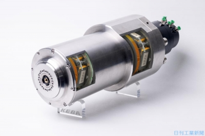 KEBAジャパン、複合材用スピンドル 磁気軸受を搭載し振動制御