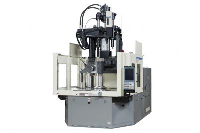 日精樹脂、低床タイプの立型射出成形機 型締め力300トン追加