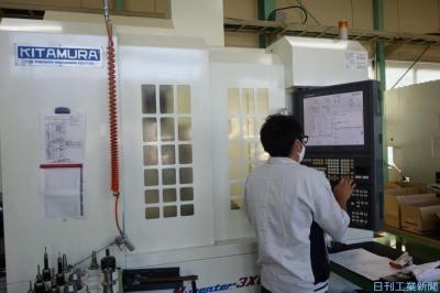 キタムラ機械、CNC交換を2時間で完了 新サービスでMCの使い勝手向上