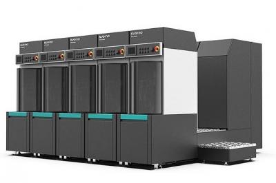 スギノマシン、洗浄自動化ライン構築容易に 機能別6モジュール