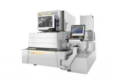 ソディック、ワイヤ回転機構搭載の放電加工機 加工寸法安定