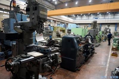 中古機械工具5000点ずらり 大阪機械団地が入札会、少額から買いやすく
