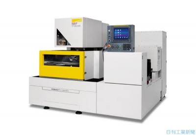 ファナック、ワイヤ放電加工機の機構部一新 樹脂金型向け提案