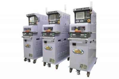 帯状金属薄板を15秒接合 ムラタ溶研がセミオート高効率機