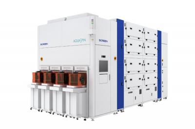 SCREEN、毎時1000枚処理可能な半導体洗浄装置投入