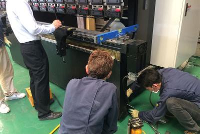 海外製の板金加工機械専門メンテ、発研セイコーが事業化