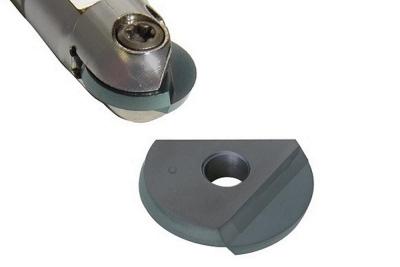 ダイジェット、刃先交換チップ新材種 ボールエンドミル用