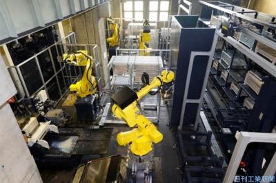 津田駒工業、完全自動化ライン構築 作業者5分の1に削減