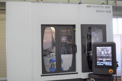直径400mmまで高精度研削 共立精機、レンズ・金属向け装置