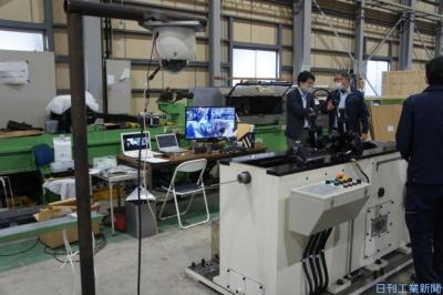 海外向け圧延機、設置をリモート支援 三益がシステム開発