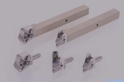 タンガロイ、小型旋盤用工具「Jシリーズ」 ヘッド交換式バイト追加