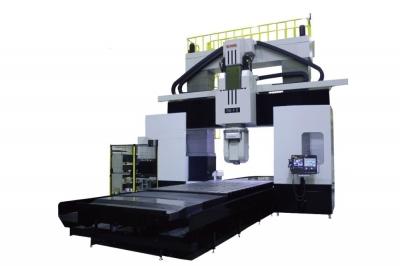 新日本工機、5軸門型MC高速化 加工範囲広げ高精度