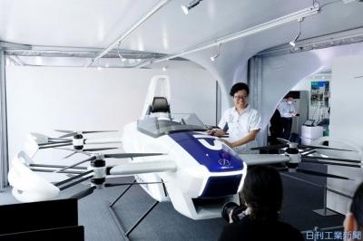 「帰還カプセル」「空飛ぶクルマ」一堂に きょうから「ソサエティー5.0科学博」