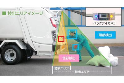 ゴミ収集事故の被害軽減へ 新明和、AIを使った安全装置投入