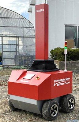 大起理化、土壌硬度・水分計測ロボ開発 農業試験所など向け