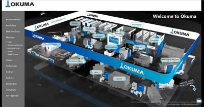 オークマ、北米で自社ウェブ展 17機を動画紹介、来年3月まで
