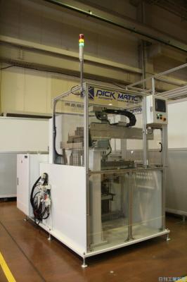 関東精機、ワーク供給・収納自動化システムを40%小型化