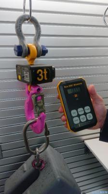 ルッドリフティング、イスラエル社製小型荷重検出器を投入 洋上・港湾設備に拡販