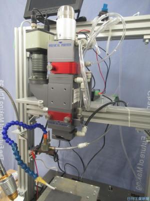 フィジカルフォトン、らせん状に走査するレーザー溶接ヘッド 隙間の許容範囲拡大