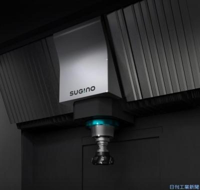 ストローク700mm確保 スギノマシン、スリムな小型MC