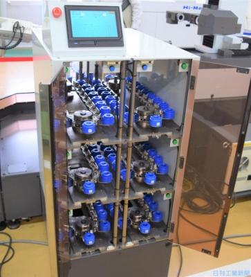 切削工具を効率管理、発注まで自動化 共立精機が収納庫