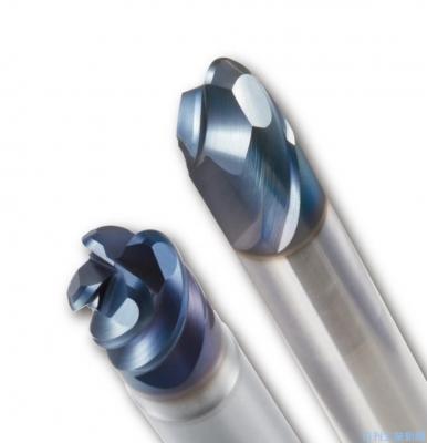 ダイジェット工業、切削熱抑制エンドミル 高硬度材用の新材種