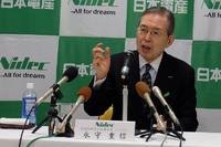 日本電産、19年3月期の設備投資1500億円 永守氏「創業以来3回目の波」